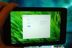 Auch ChromeOS für das Nexus 7 ist im Anflug.