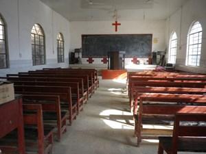 Eine Lisu-Kirche