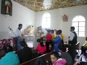 Eine tibetische Hochzeit.