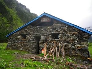 Eine der höchstgelegenen Kirchen der Welt in der Autonomen Region Tibet.