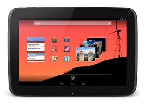 Das Nexus 10 will mit Top-Hardwareausstattung punkten.