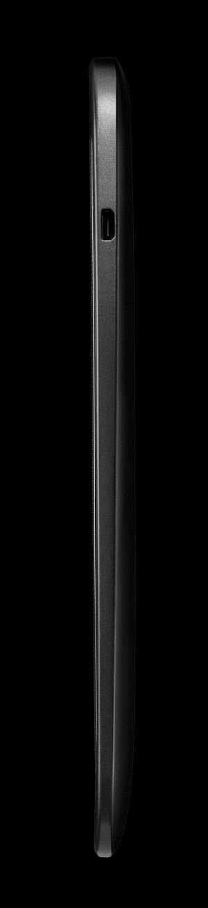 Und noch von der Seite betrachtet: Das Nexus 10.