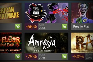 Steam Halloween Sales 2012