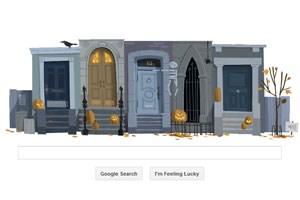 Interaktives Google-Doodle zu Halloween