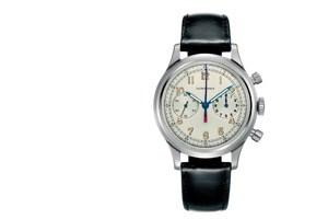 Mit der Armbanduhr gewann der Markt an Schwung. Der Chronograf von 1936 mit Kaliber 13ZN.