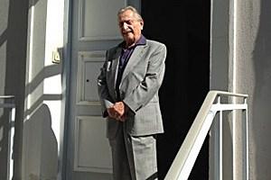 Seit 1977 Präsident der Israelitischen Kultusgemeinde der Stadt Salzburg: Marko M. Feingold, geboren am 28. Mai 1913.