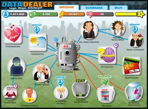Data Dealer: Kaufen und Verkaufen personenbezogener Daten als Spiel zur Sensibilisierung im Umgang mit der Privatsphäre.