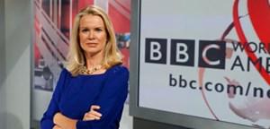 """Präsentiert seit 1996 die """"BBC World News America"""": Anchorwoman Katty Kay geht dieses Mal in ihre vierten US-Wahlen."""