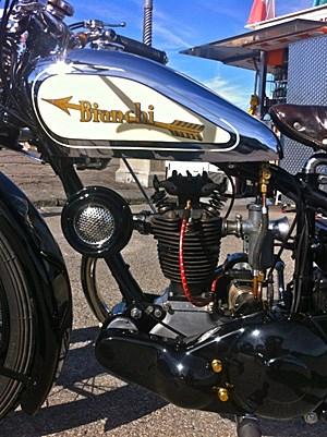 Heute hat die Freccia Oro ihren Platz in einem kleinen, feinen Motorradmuseum gefunden.