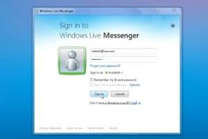 Windows Live Messenger wird eingestellt.