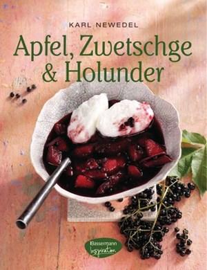 Dieses Buch enthält Rezepte für Rosa Apfelmousse, mit Hackfleisch gefüllte Äpfel, Tarte Tartin oder Holundermarmelade zu Eierschwammerln und Semmelknödel.