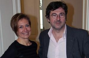 textwerk-Gründer Eva Mandl und Peter Suwandschieff.