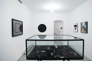 """Galeristin und Künstlerin Lisa Ruyter hat in der Kantgasse beim Stadtpark eine """"Temporäre Autonome Zone"""" eingerichtet."""