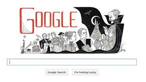 Google erinnert an den Geburtstag des irischen Schriftstellers Bram Stoker