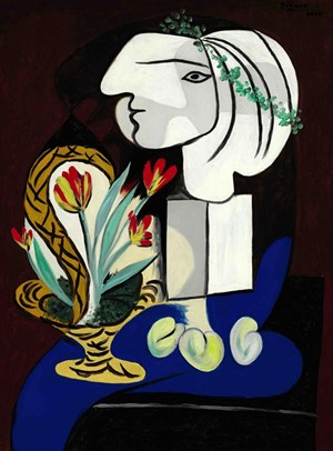 "Picassos ""Nature morte aux tulipes."