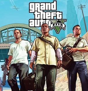 """Die drei spielbaren Charaktere von """"Grand Theft Auto 5"""""""