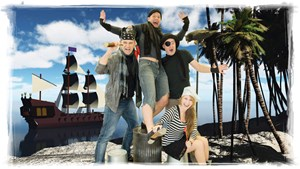 Tanz, Musik und jede Menge Action für Kinder ab sechs Jahren bringt das Piratenmusical der Wiener Kinderfreunde im Raimund Theater.