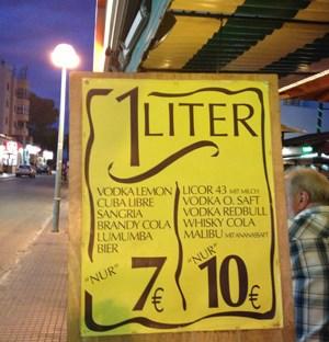 Der Geruch in den Spelunken war speziell. Kein Wunder, bei diesen Getränkepreisen.