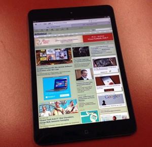 Kein kleines Tablet von Apple? Das war 2010, 2012 gehört dem iPad Mini.