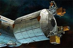 """Voraussichtlich 2014 soll ein erster hochpräziser Atomuhr-Prototyp im Raumlabor """"Columbus"""" der Internationalen Raumstation ISS angebracht werden."""