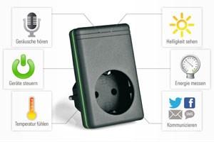 QGate verwandelt ein Smartphone in eine Fernbedienung für den Haushalt.