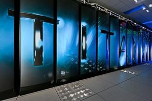 Der Cray Titan (bzw. ein Teil davon).