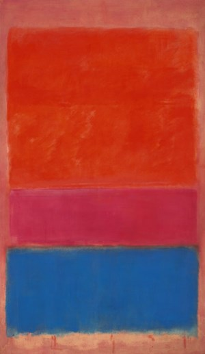 "Mark Rothkos ""Royal Red and Blue"" erzielte bei Sotheby's 75,1 Millionen Dollar."