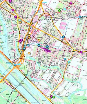 Die Land(e)karte Nachhaltige Donaustadt, erhältlich unter umweltschutz.wien.at
