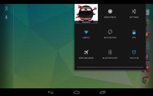 Die Schnelleinstellungen von Android 4.2.