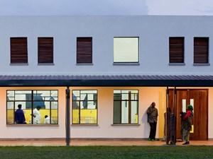 ... dient die Architektur nicht nur dem Auge, sondern vor allem der Senkung des Infektionsrisikos.
