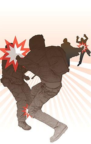 Laut Spiel greifen bei Gewalt in der Schule nur bis zu 20 Prozent der Mitschüler ein.