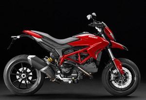 Supermoto Ducati Hypermotard, Jahrgang 2013.