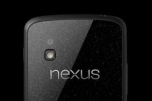 Bekommen die meisten derzeit nicht einmal von hinten zu sehen: Googles Nexus 4.