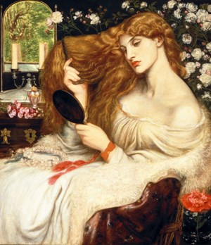 Dante Gabriel Rossetti Lady Lilith 1866-8