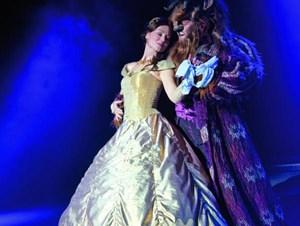 Belle und das Biest.