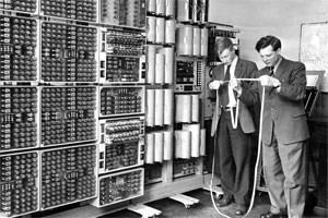 Computer-Arbeit in den 1950ern.
