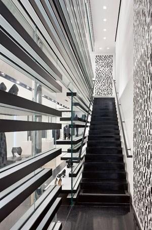 Das Chanel-Interieur in Los Angeles.