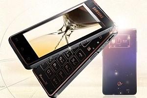 Samsungs neues Dualscreen-Luxustelefon: Das SCH-W2013.