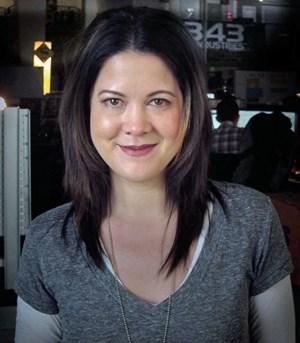 """Kiki Wolfkill ist die Produzentin von """"Halo 4"""". Sie fing vor 16 Jahren im den Bereichen Motion Graphics und Cinematics in der Videospielbranche an und war unter anderem auch Director of Art der Microsoft Game Studios."""
