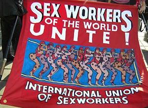 Im Kampf für die Rechte von Sexarbeiterinnen vernetzen sich AktivistInnen über Nationalgrenzen hinweg.