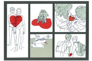 """Bild zum Thema """"Liebe"""" aus der Broschüre."""