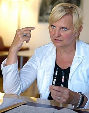 """""""Die Charta muss beweglich sein"""": Für Stadträtin Sandra Frauenberger war das neue Beteiligungsmodell erst der Anfang."""