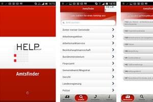 """App """"Amtsfinder"""" gestartet"""