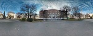 """Eine mit dem Nexus 4 aufgenommene """"Photo Sphere"""": Um sie """"Street View""""-artig zu erforschen sei auf Google+ verwiesen, wo solche Aufnahmen korrekt angezeigt werden."""