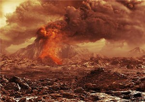"""Daten der ESA-Mission """"Venus Express"""" deuten auf mögliche aktive Vulkane auf unserem Nachbarplaneten."""