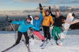 Ums Skifahren geht es bei den jährlichen Openings nur einer relativ kleinen Anzahl der Gäste.
