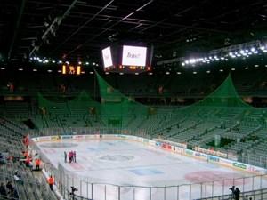 Die Arena Zagreb ist die größte Veranstaltungshalle Kroatiens. Bis zu 15.200 Fans besuchen hier die Heimspiele Medveščaks.