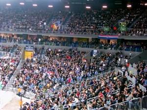 Im Schnitt 8.835 Fans begrüßte der Klub im Vorjahr bei jedem seiner Heimspiele: Rang zwölf im europaweiten Vergleich.