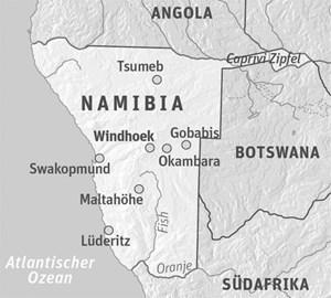 Anreise & UnterkunftZum Beispiel mit South African Airways mit Umsteigen von Wien nach Windhoek. Unterkunft: Casa Piccolo in Windhoek, dann im Forschungslager.Veranstalter: Biosphere Expeditions