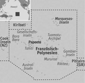 Anreise & UnterkunftFlug Wien-Papeete (Tahiti) zum Beispiel mit Air France. Von Papeete regelmäßige Flugverbindungen mehrmals wöchentlich mit Air Tahiti zu den Marquesas. Unterkunft: Hanakée Hiva Oa Peral Lodge; weitere Infos: www.tahiti-tourisme.pf